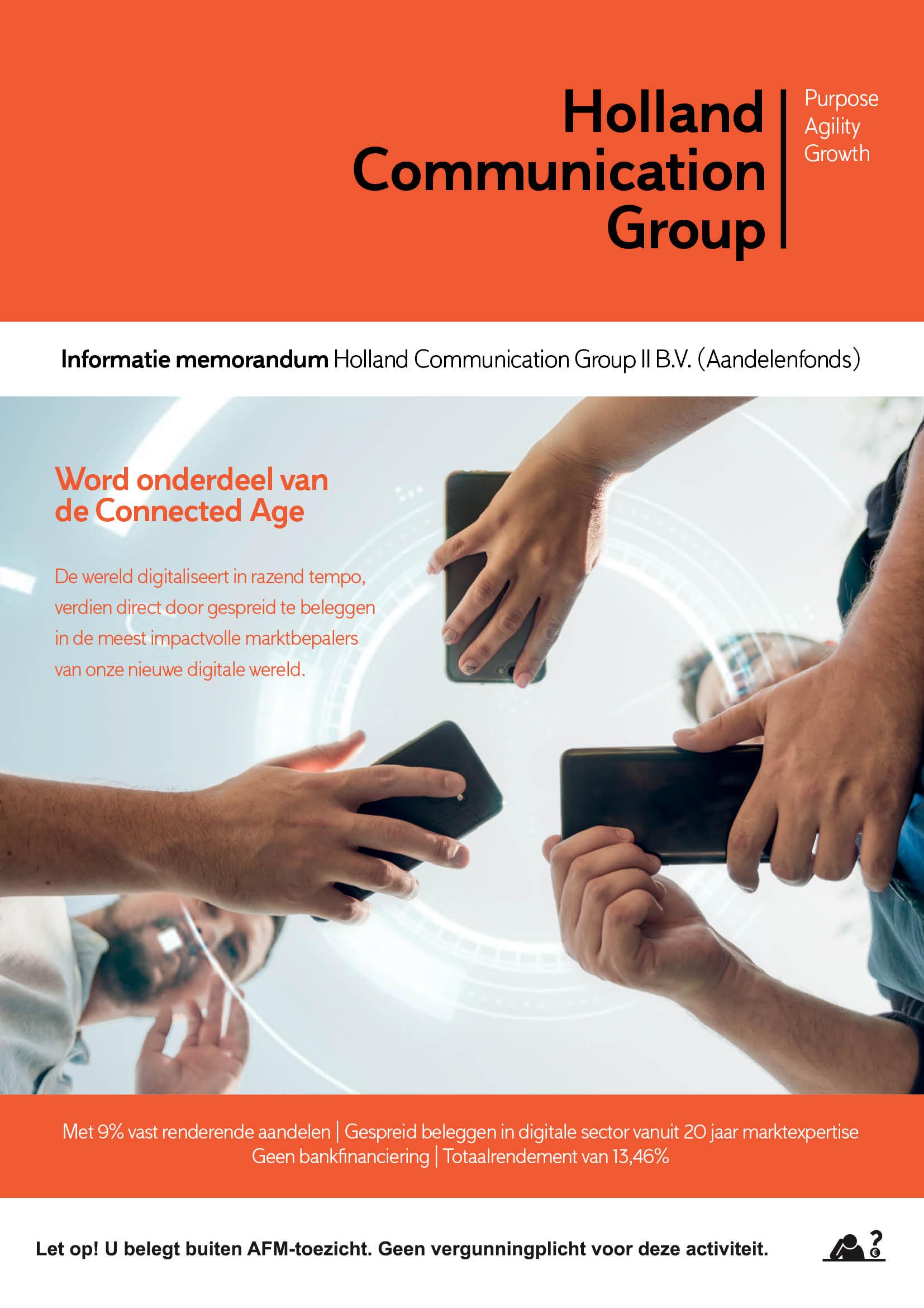 Aandelen HCG II Cover
